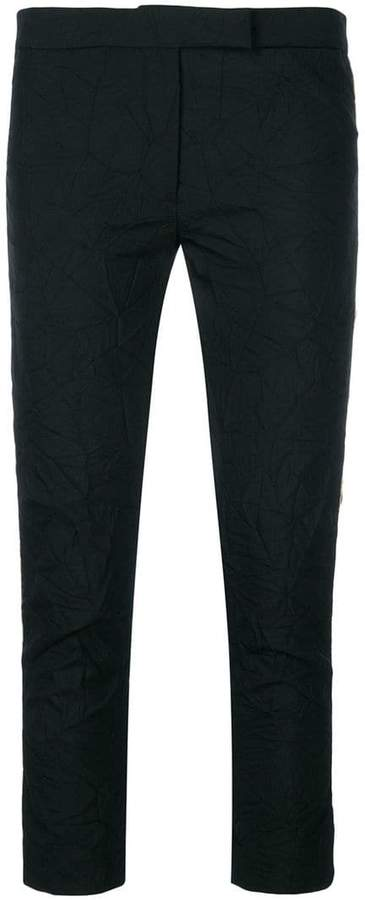 Ann Demeulemeester Peyton creased trousers