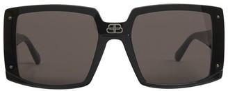 Balenciaga Shield Square sunglasses