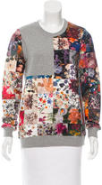 Markus Lupfer Graphic Crew Neck Sweatshirt
