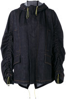 Marni gathered denim jacket