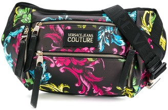 Versace Jeans Couture Baroque Print Belt Bag