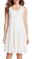 Karen Kane Women's 'Tara' Tiered Lace A-Line Dress