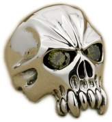 Unknown CZ Eyes Skull Huge 925 Sterling Silver Mens Biker Rocker Ring 9M104G US 8~15