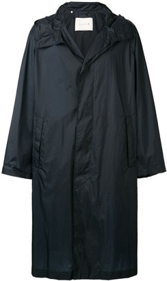 MACKINTOSH oversized hooded raincoat