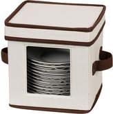 Household Essentials Saucer Storage Chest