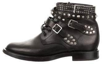 4b90501ff0f Saint Laurent Studded Boots For Women - ShopStyle Canada
