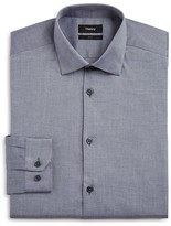 Theory Solid Slim Fit Dress Shirt