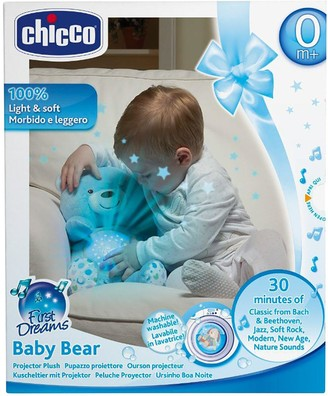 Chicco First Dreams Baby Bear Night Projector - Blue