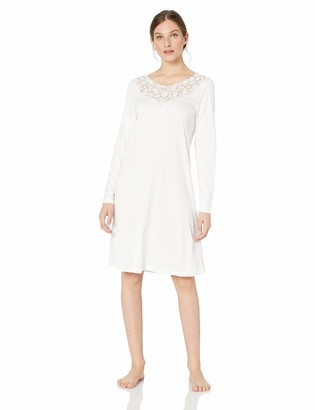 Hanro Women's Aurelia Long Sleeve Gown