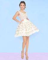 Mac Duggal Homecoming - 66238N Pearl Beaded Mini Dress