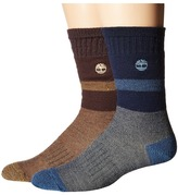 Timberland TM31369 10 Boot 2-Pair Pack Men's Crew Cut Socks Shoes