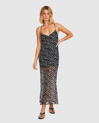 Alice In The Eve Jungle Fever Sheer Maxi Dress