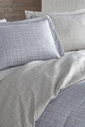 SouthShore Fine Linens Full/Queen Premium Collection Ultra-Soft Modern Duvet Cover Sets - Blue Mesh