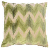 The Piper Collection Mary 22x22 Velvet Pillow - Green