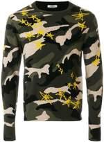 Valentino Lunar Punk camouflage jumper