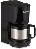Cuisinart 4-Cup Coffee Maker with Stainless Steel Carafe in Black
