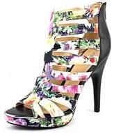 Bar III Ellie Women Open-toe Canvas Multi Color Heels.
