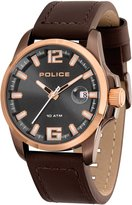 Police Men's PL12591JSBNR13 Casual Lancer Watch with 3 Hands with Date