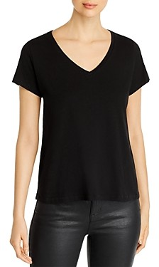 Eileen Fisher Petites Eileen Fisher Petite System V-Neck Tee