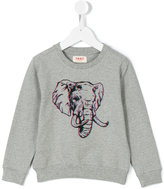 Maan 3D elephant print sweatshirt