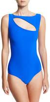 Chiara Boni Perseide Cutout One-Piece Swimsuit
