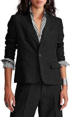Polo Ralph Lauren Women's Linen Blazer