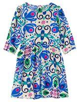 Crazy 8 Peacock Print Dress