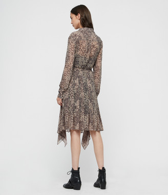 AllSaints Lizzy Patch Dress