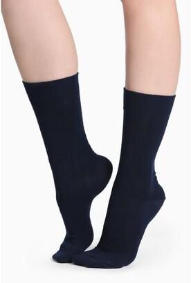 Humphrey Law Merino Wool Blend Health Sock Navy 8-11