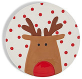 Mud Pie Holiday Reindeer Platter