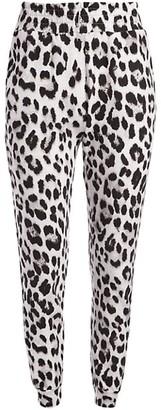 Alice + Olivia Shavon Leopard Sweatpant Joggers