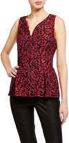 Julie Brown Sloane Lace Peplum Top
