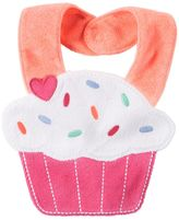 Carter's Baby Girl Cupcake Teething Bib