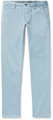 Incotex Slim-Fit Stretch-Cotton Twill Chinos