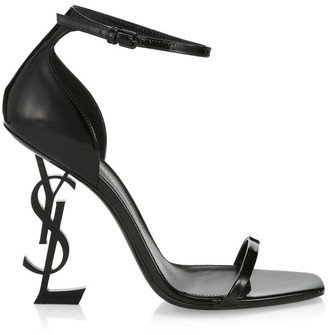 Saint Laurent Opyum Leather High-Heel Sandals