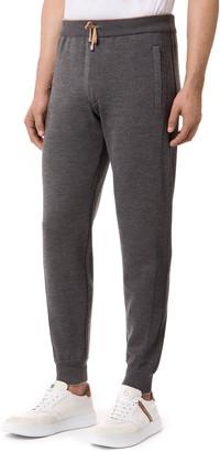 Stefano Ricci Men's Knit Wool-Cashmere Jogger Pants