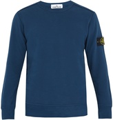Stone Island Long-sleeved cotton sweatshirt