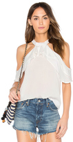 Band of Gypsies Ruffle Blouse