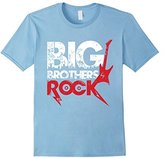 Baby Boys Big Little Brother, Big Brothers Rock T-shirt