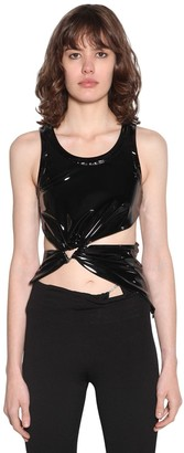 Unravel Triangle Latex Tank Top