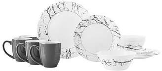 Corelle Stone Grey 16-pc. Dinnerware Set