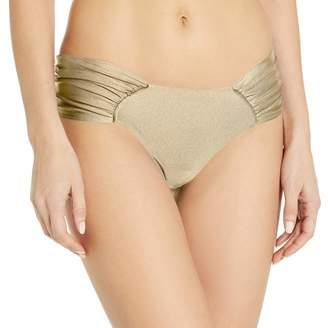 Luli Fama Women's Cosita Buena Ruched Back Bikini Bottom