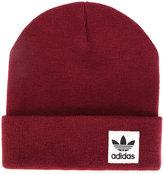 adidas logo patch beanie hat