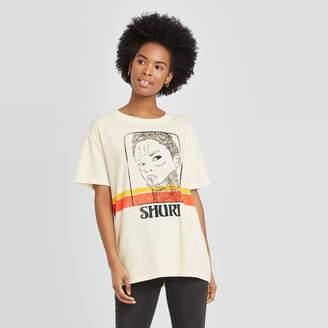 Marvel Woen's Black Panther/Shuri Sun Short Sleeve T-Shirt -