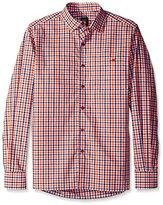 Ike Behar Men's Multi Check Sportshirt