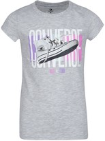 Converse Chuck Sneaker Graphic T-Shirt (Big Girls)
