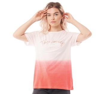Tokyo Laundry Womens Inca Tie Dye T-Shirt Optic White