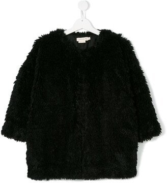 Andorine Faux Fur Coat