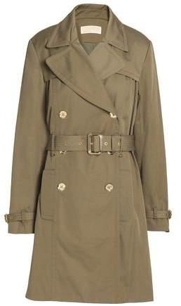 MICHAEL Michael Kors Belted Cotton-Blend Gabardine Trench Coat