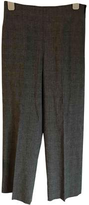 Harmony Grey Wool Trousers for Women